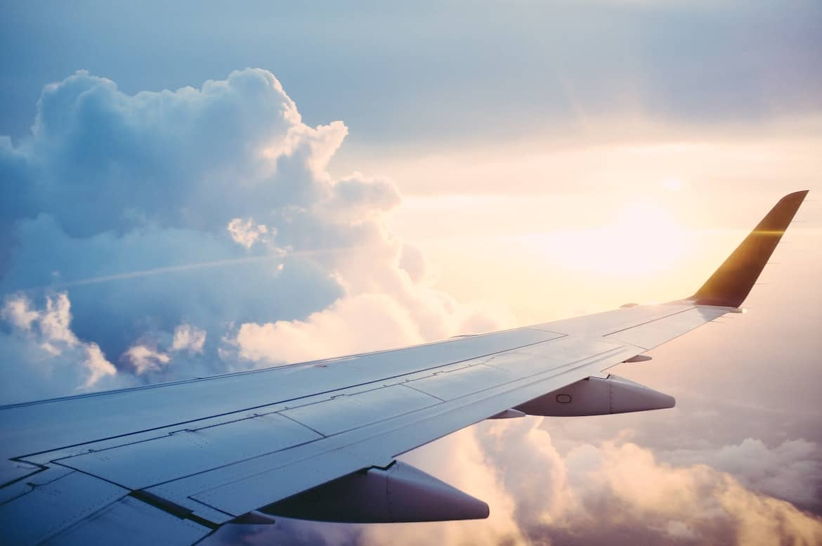 airplane wing get paid to fly