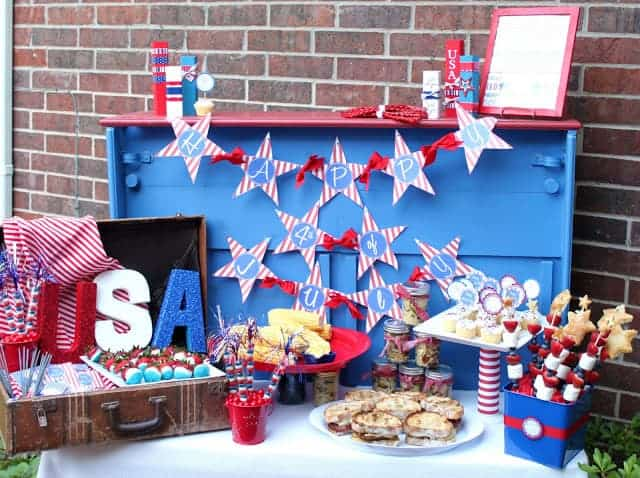 Fourth of July BBQ Party idea