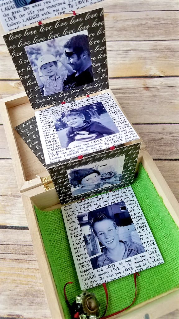 Memory Box Ideas - How to Make a Pull Out Style DIY Memory Box in About 30 Minutes