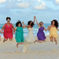 10 Gorgeous Examples of Mismatched Bridesmaid Dresses