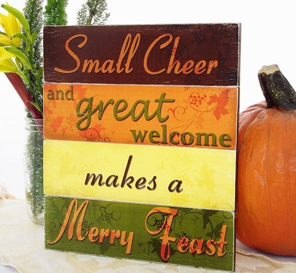 DIY Thanksgiving Projects For Home and Table 5