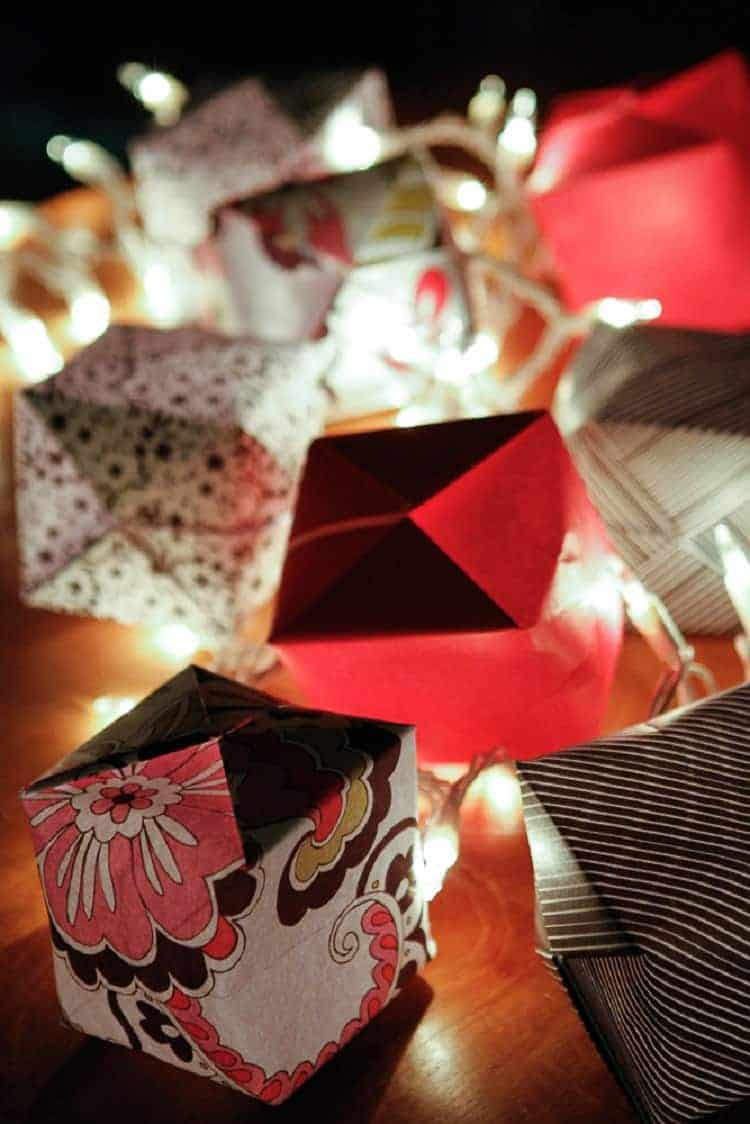 Origami-String-Light-Covers