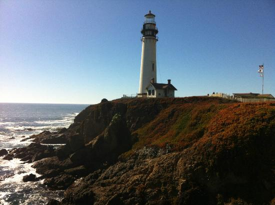 Pigeon Point beautiful lighthouses in the US