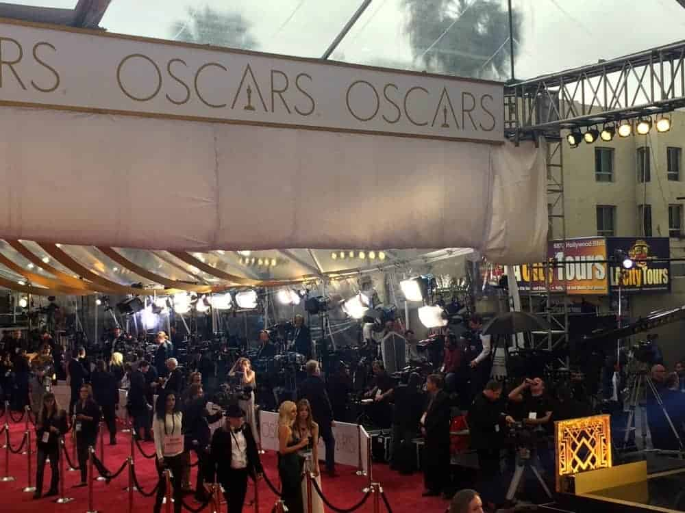 Reporters, photographers and publicists prepare for the onslaught.