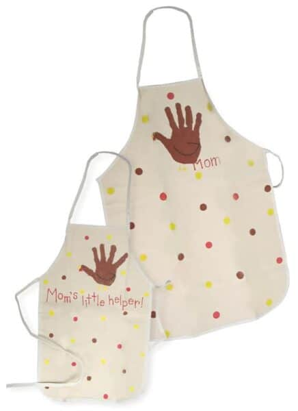 Thanksgiving Aprons for Mom and Child
