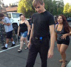 Ghoulish Lessons at Knott's Scary Farm Scare School