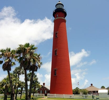 ponce-de-leon-lighthouse beautiful lighthouses in the US